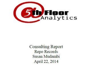 repo records consulting report